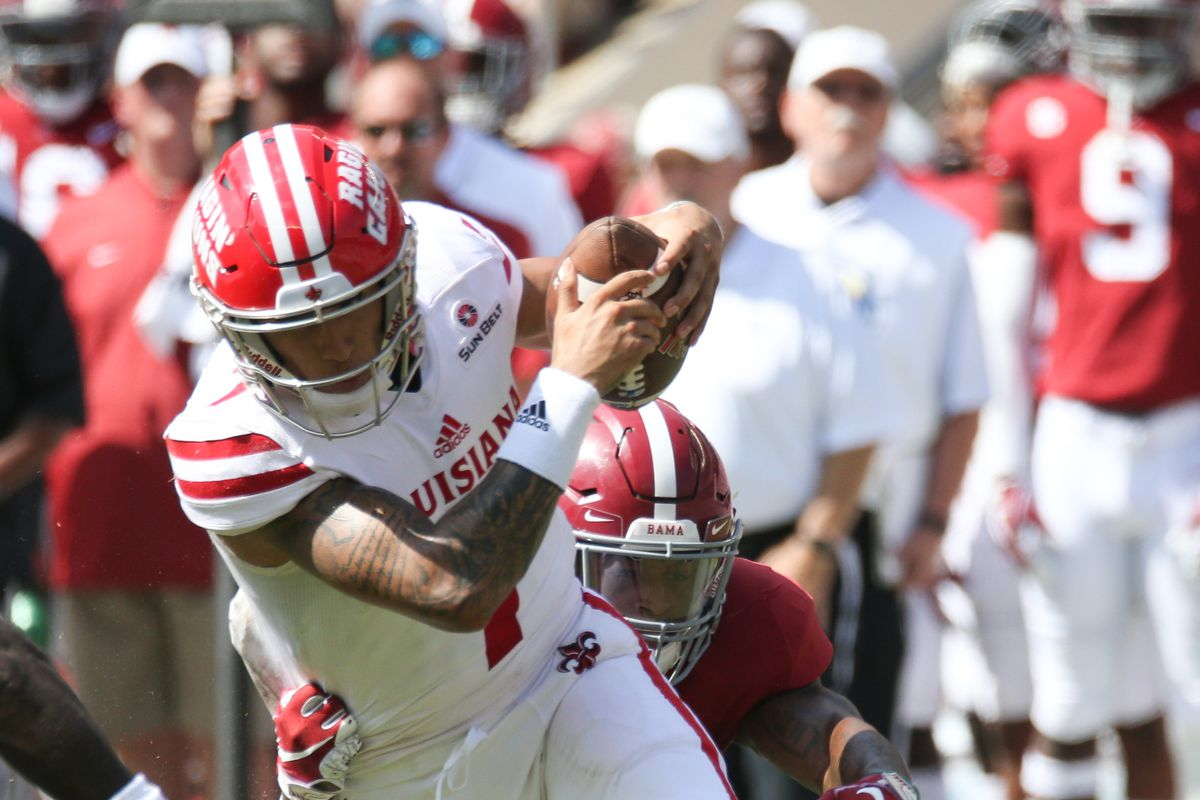 NCAA Football: UL Lafayette at Alabama