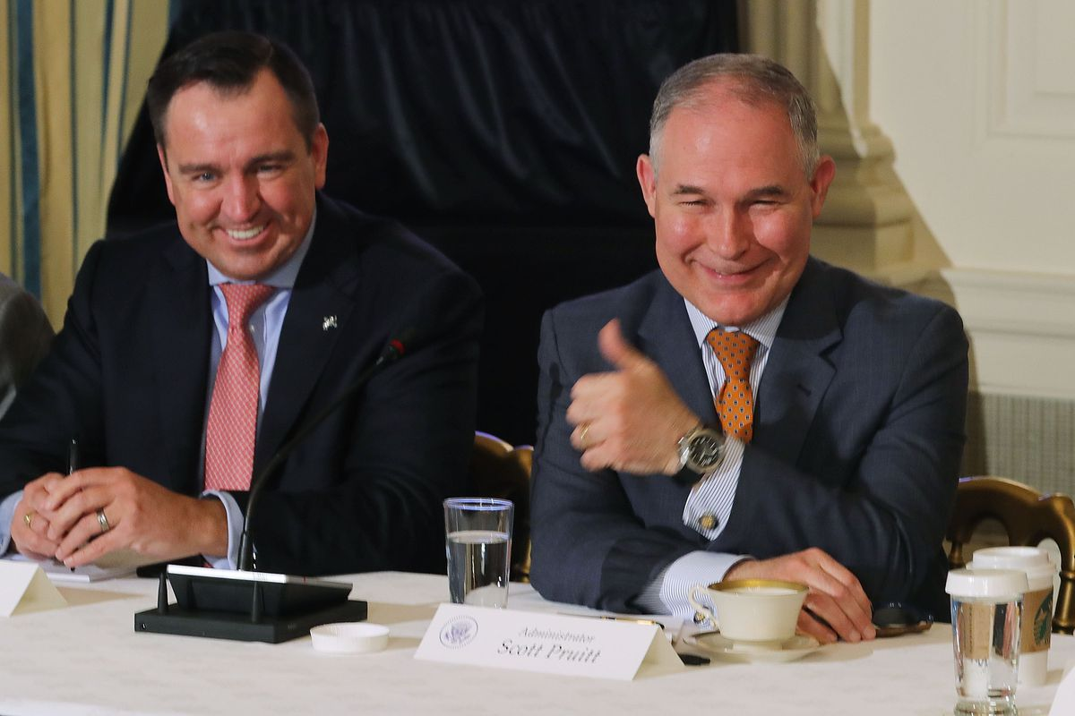 EPA Administrator Scott Pruitt flies first class to avoid