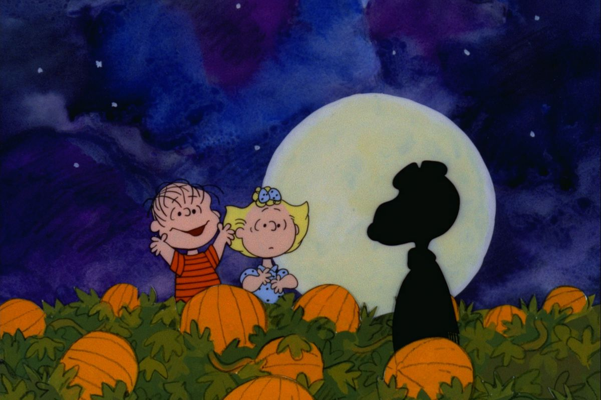 """Could it be the Great Pumpkin rising out of the pumpkin patch? You can tune in to find out when 'It's the Great Pumpkin, Charlie Brown"""" airs on PBS Oct. 24."""