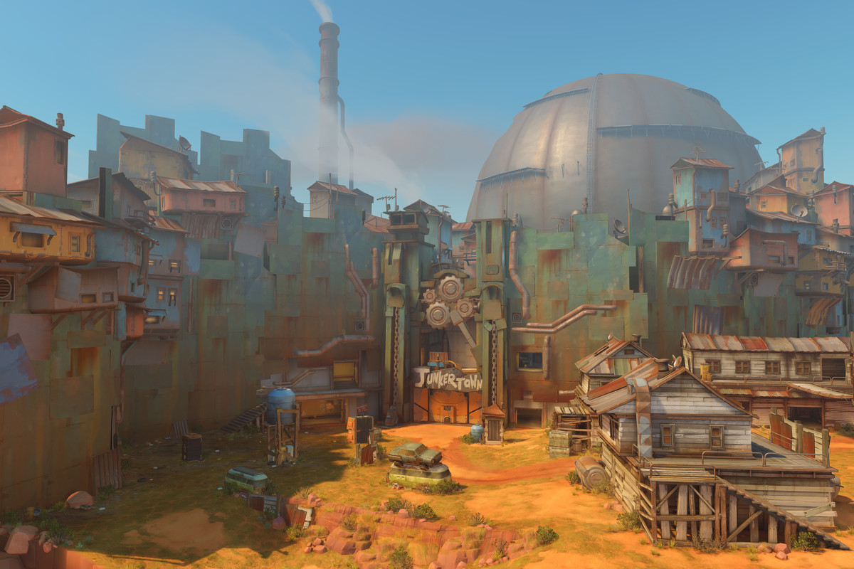Junkertown is on its way to live servers.