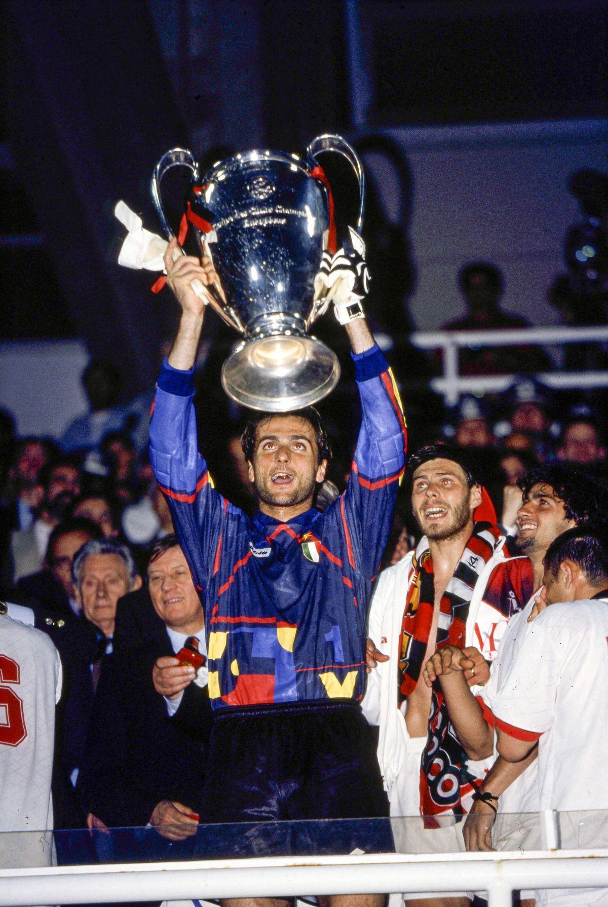Milan AC v FC Barcelona - Champions league finale 1993/1994