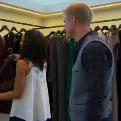 It looked like the boutique had already pulled looks for Leslie.