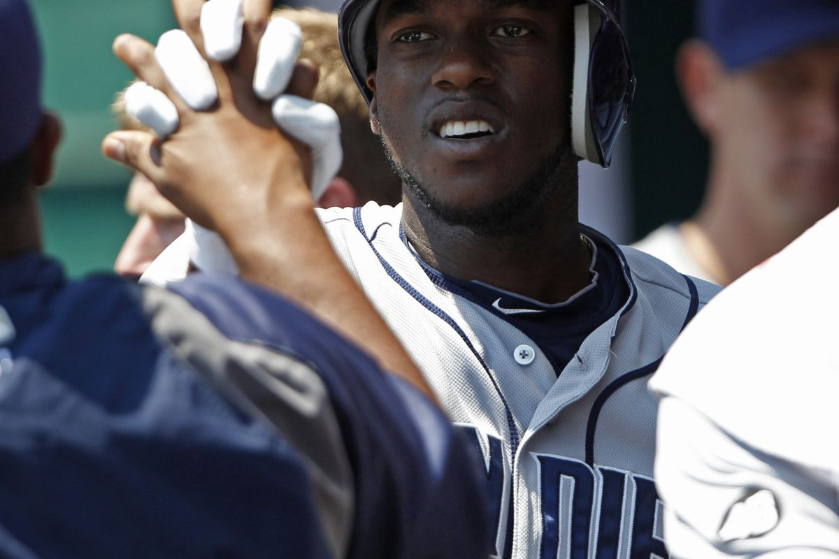 Hold hands and embrace the fact that despite their losses, the Padres are fun to watch.  Bring on the Mets! Frank Victores-US PRESSWIRE
