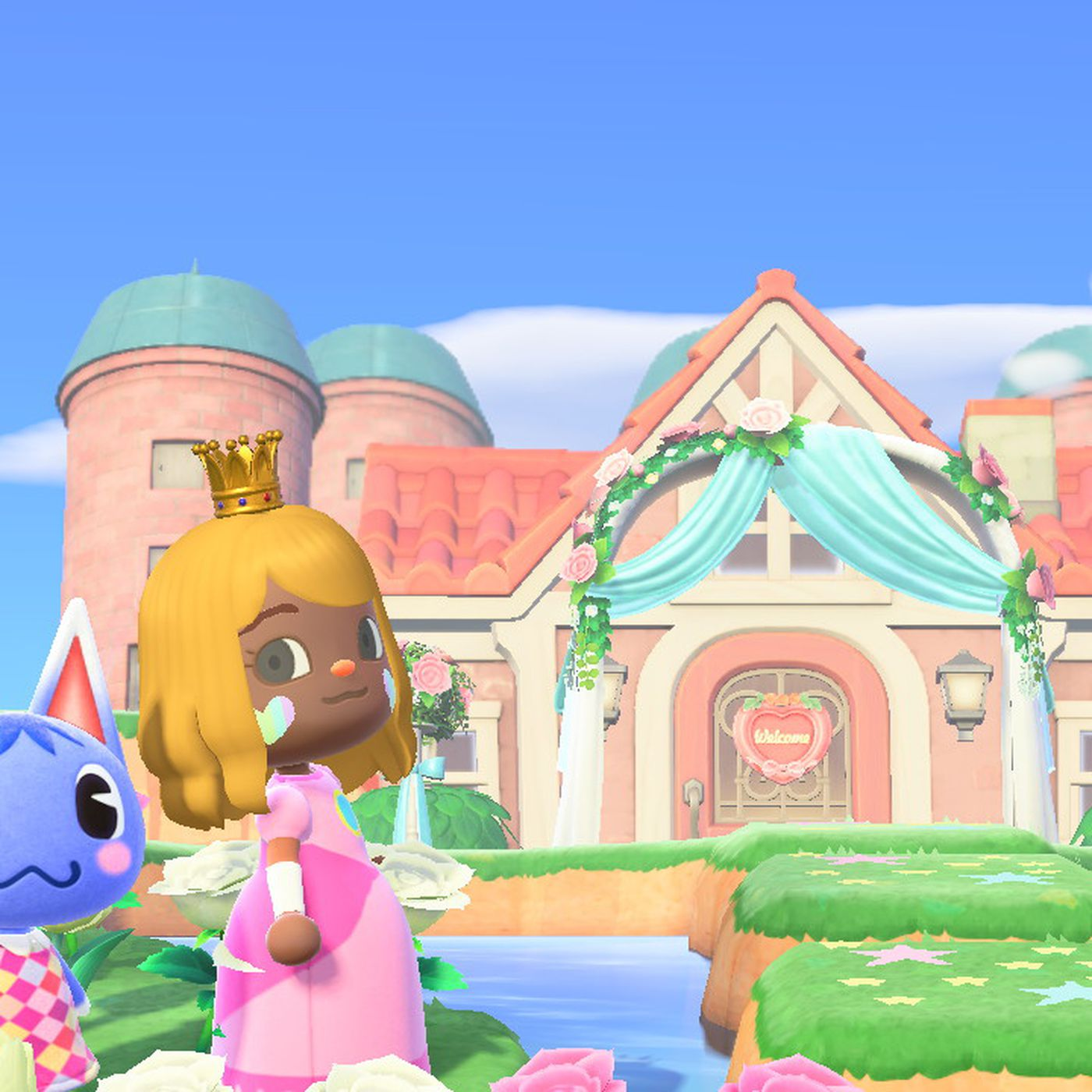 Picture of: Animal Crossing New Horizons Fans Transform Islands Into Castles Polygon