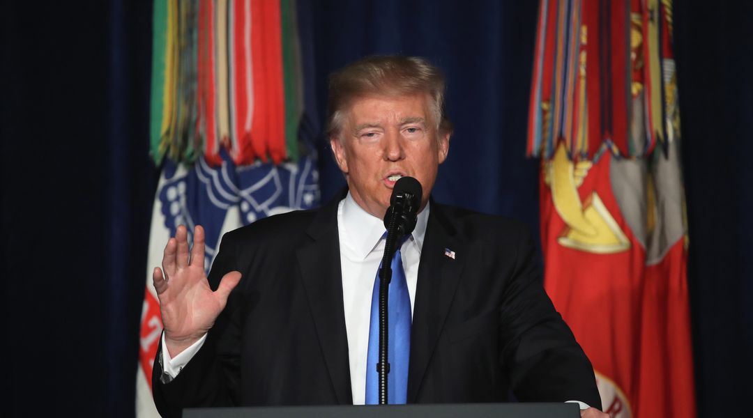 The America First president just announced he's escalating the Afghanistan war