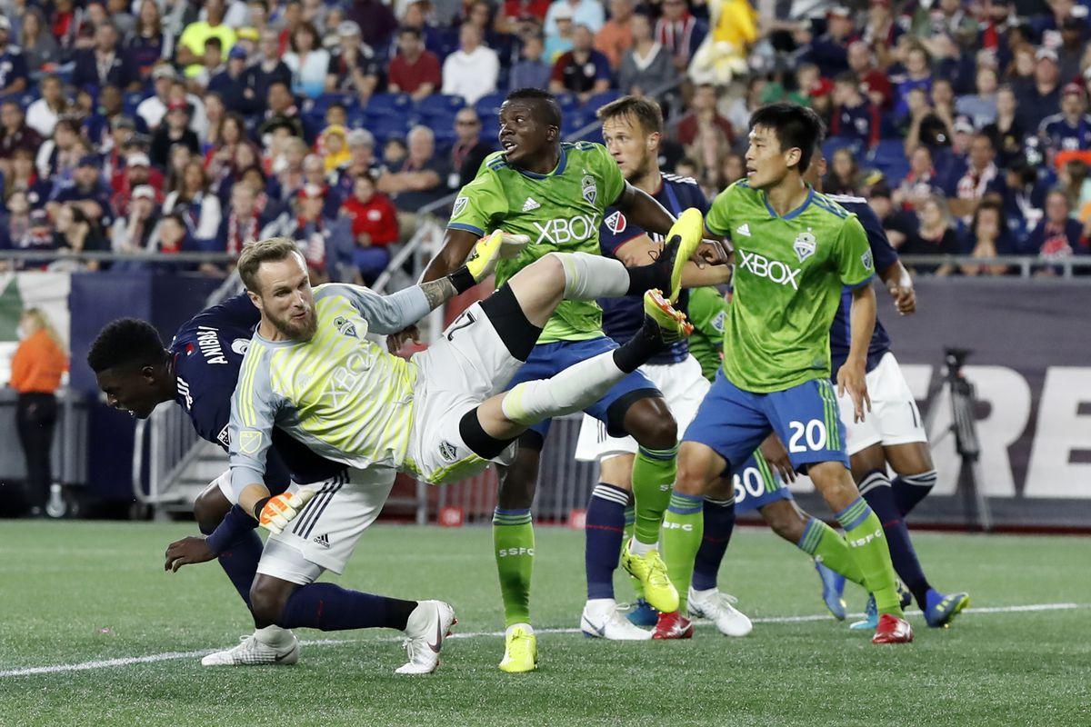 SOCCER: JUL 07 MLS - Seattle Sounders at New England Revolution