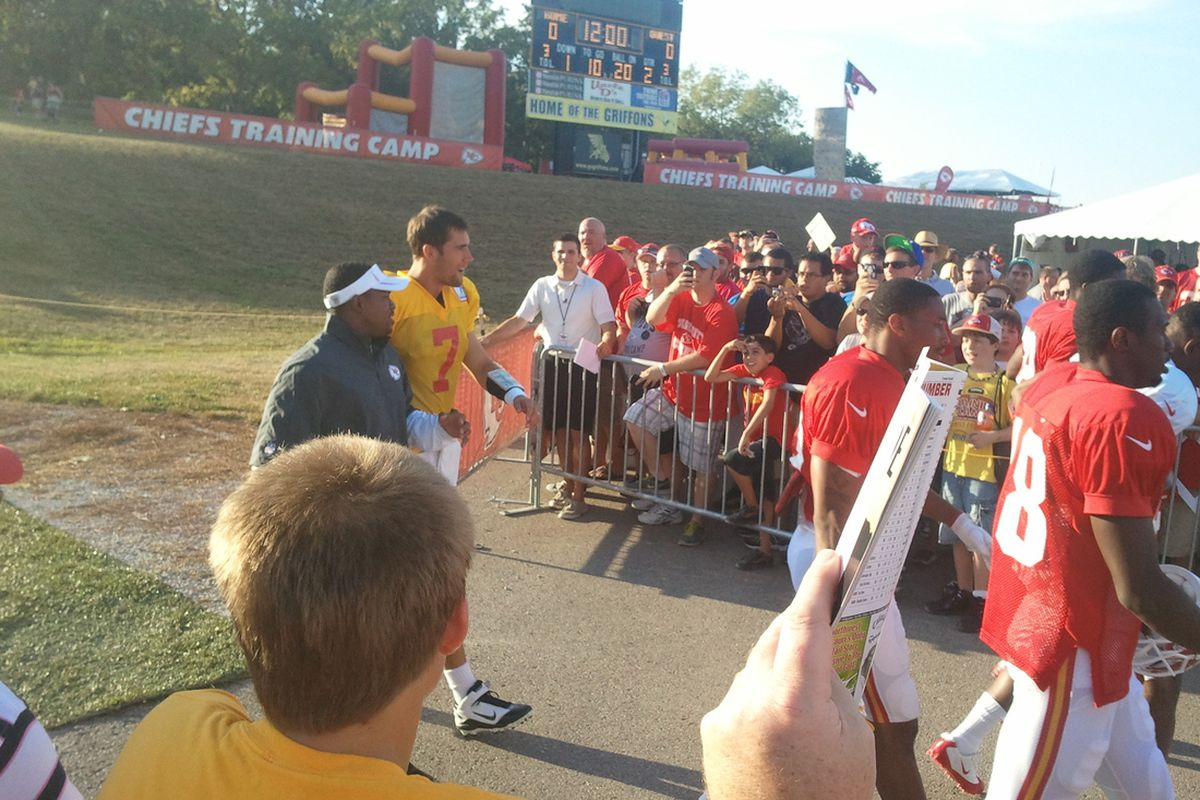 KC Chiefs Training Camp | Joel Thorman