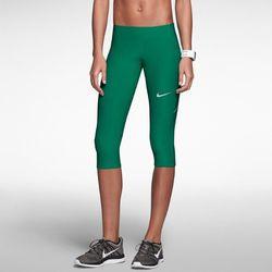 "<b>Nike</b> Filament running capris in team dark green, <a href=""http://store.nike.com/us/en_us/pd/filament-running-capris/pid-577534/pgid-577535"">$48</a>"