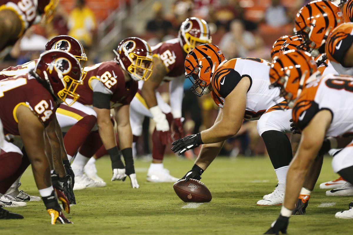 08ff8f9e NFL Preseason Week 2: Washington Redskins vs Cincinnati Bengals 1st ...