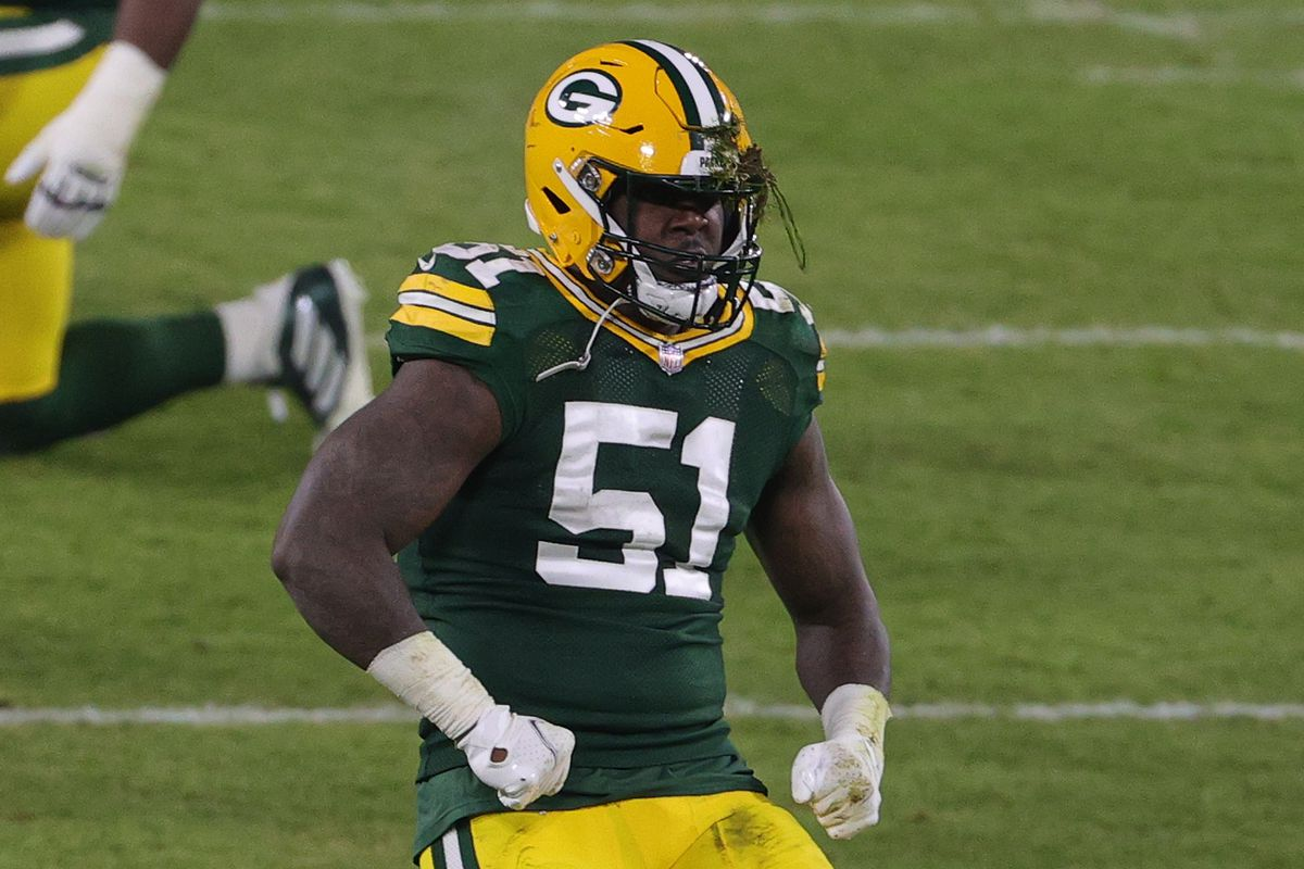 Packers LB Krys Barnes has thumb injury, questionable to return vs. Rams - Acme Packing Company