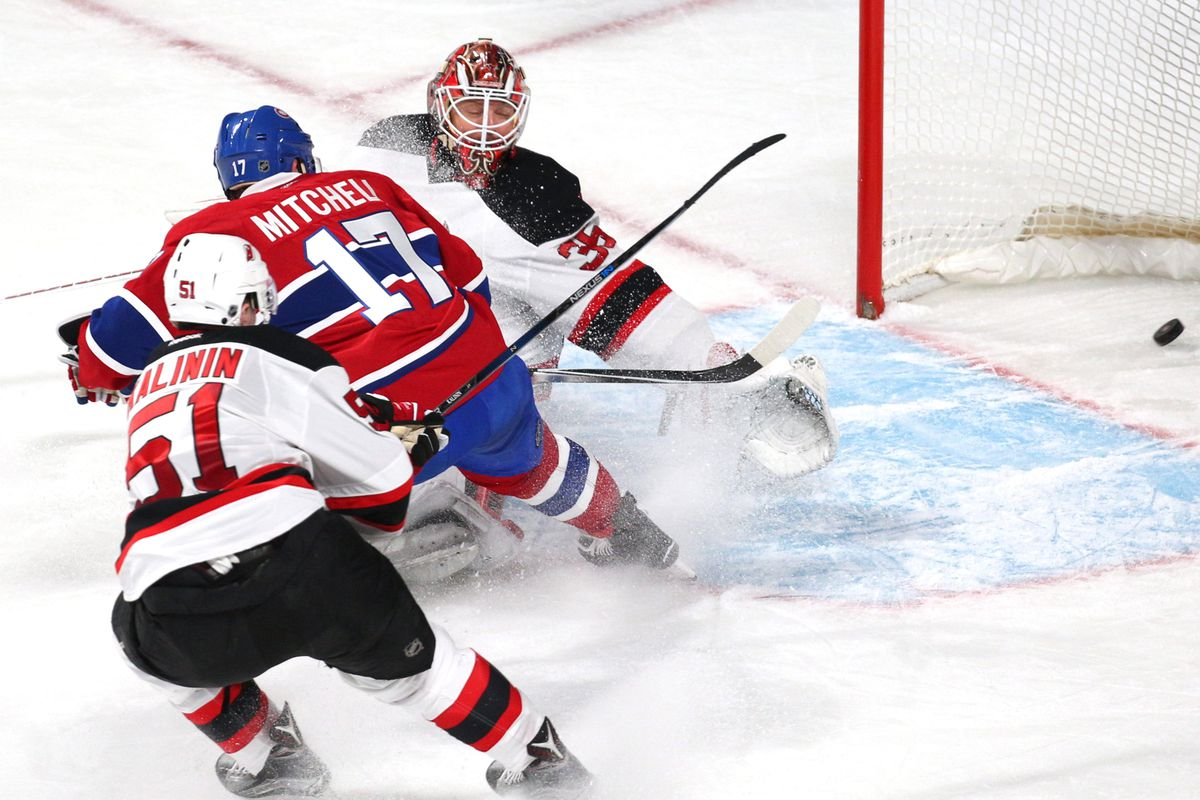 Your game winning goal. Sergey Kalinin was not as close as he looked here and the one man back, Damon Severson, slided out of the picture earlier.