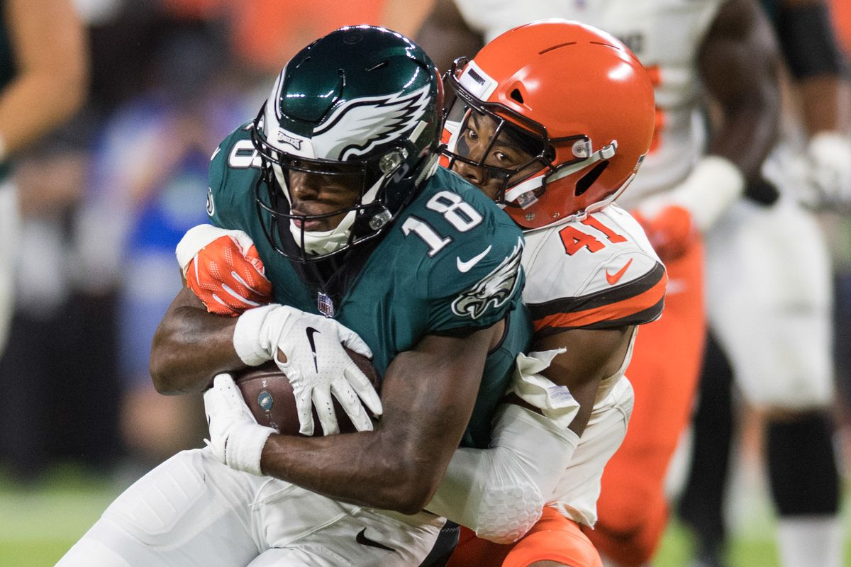 Ken Blaze-USA TODAY Sports. The Philadelphia Eagles recently published  their first regular season depth chart ahead of their Week 1 game against  the Atlanta ... 5d570ef8b