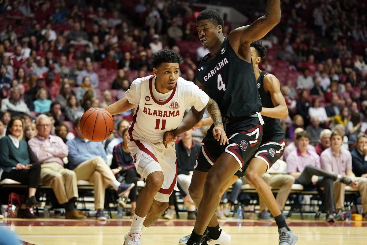 NCAA Basketball: South Carolina at Alabama