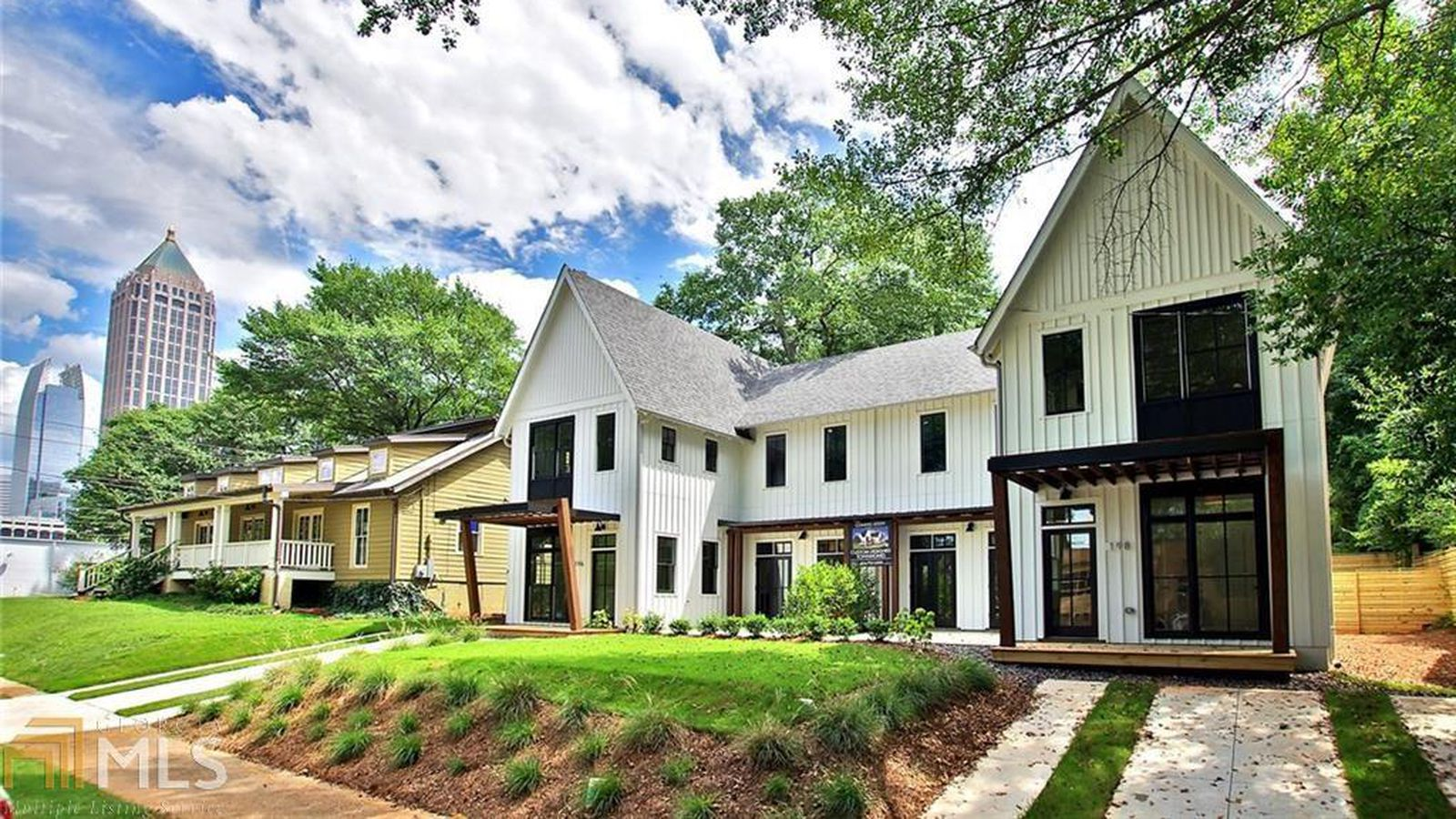 Atlanta s modern farmhouse townhome edition pops up in - 3 bedroom homes for rent in atlanta ga ...