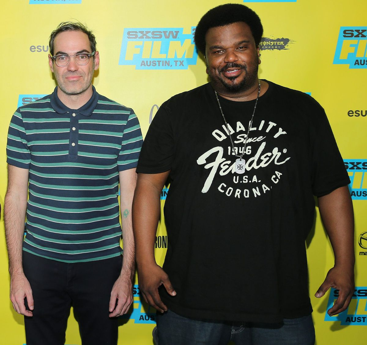 """""""Morris From America"""" director Chad Hartigan and star Craig Robinson attend the film's premiere during 2016 SXSW Music, Film + Interactive Festival on March 14, 2016, in Austin, Texas.   Neilson Barnard/Getty Images"""