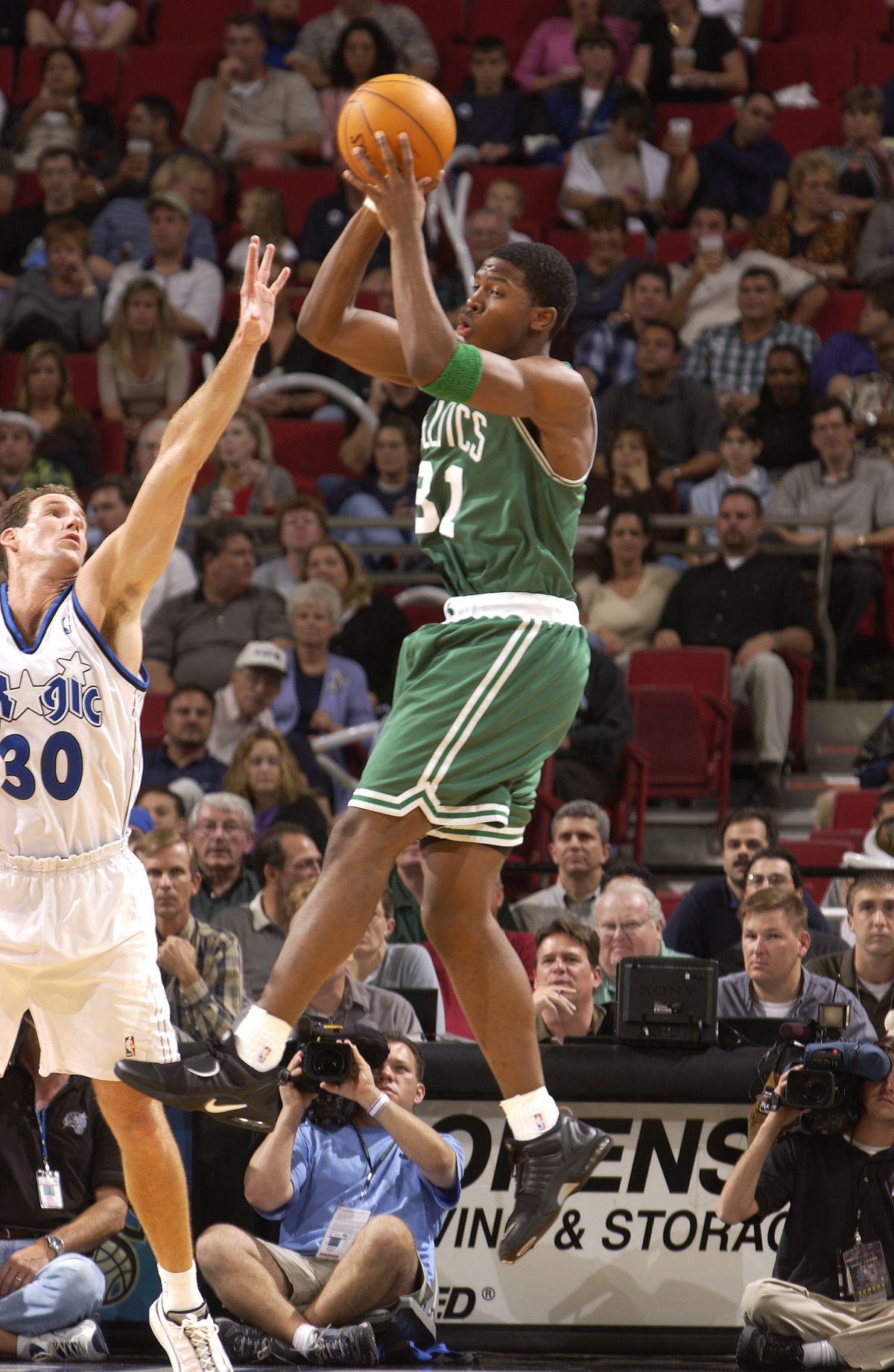 Celtics v Magic X Johnson