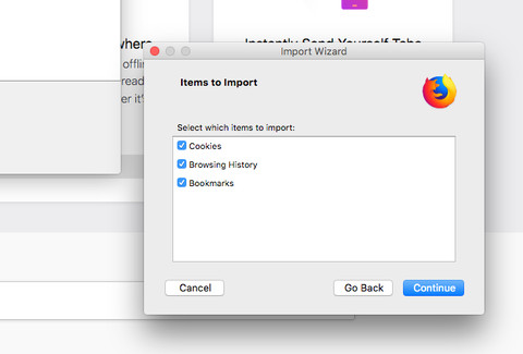 Exporting chrome bookmarks and passwords