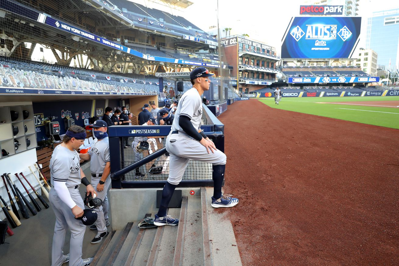American League Division Series Game 1: New York Yankees v. Tampa Bay Rays