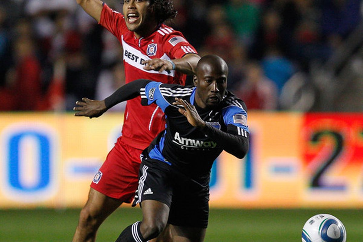 Cornell Glen is one of five players who are starting for the Quakes that weren't starting the last time they played the Sounders.