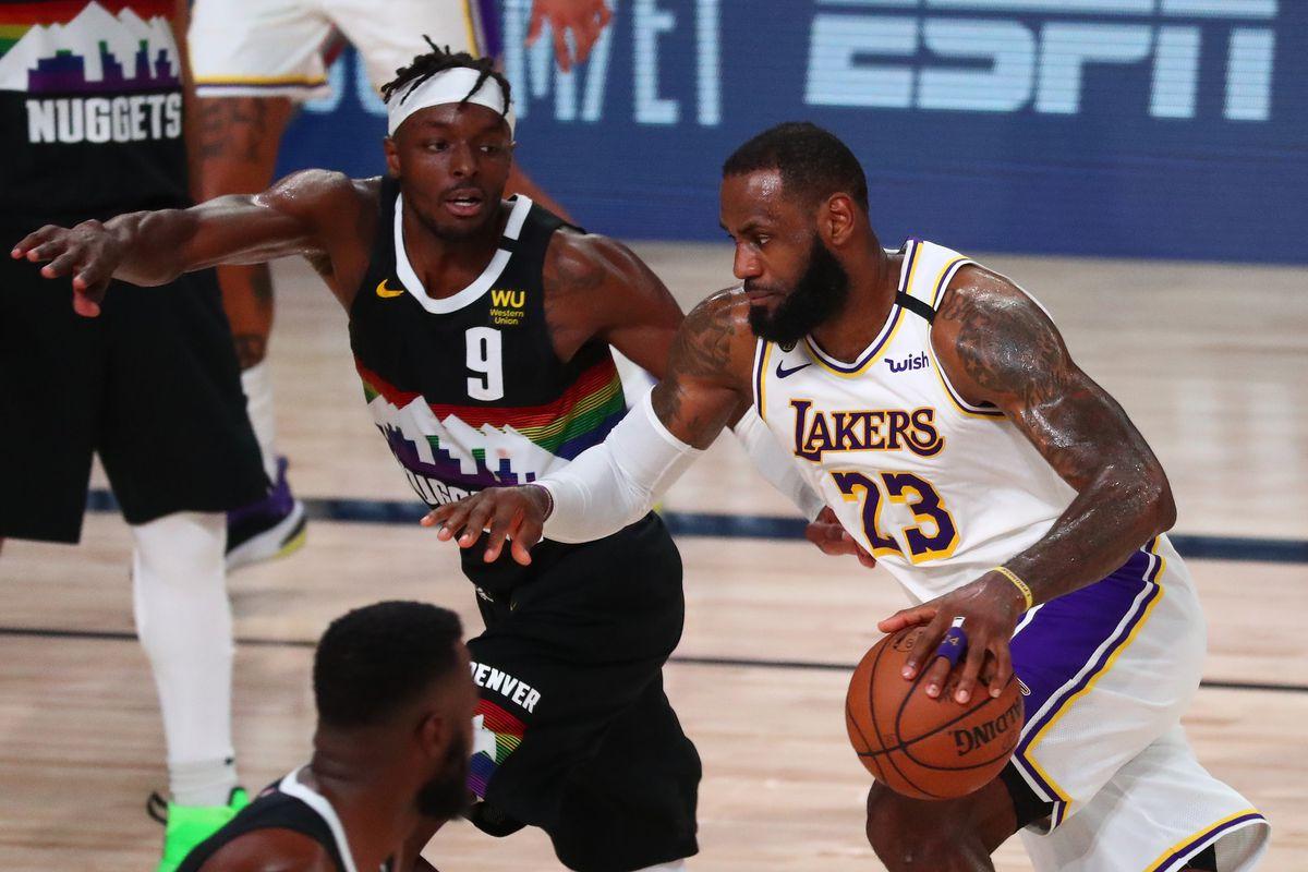 NBA: Playoffs-Los Angeles Lakers at Denver Nuggets