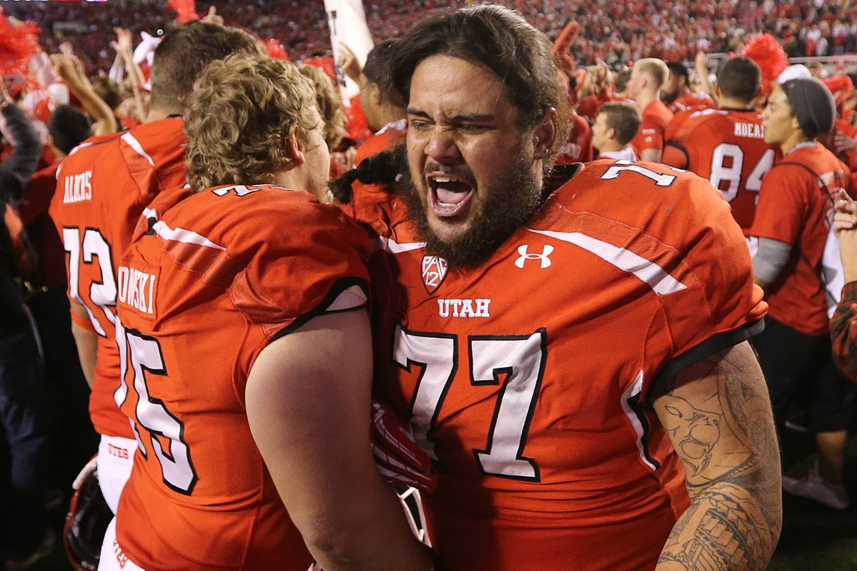 Prepare yourselves, Sun Devil fans. This is what it looks like when Utah pulls off an upset.