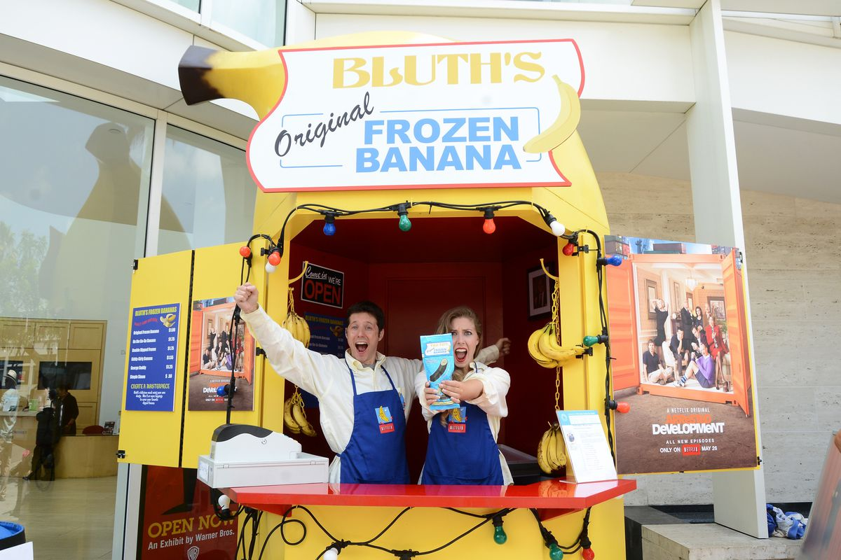 'Arrested Development' Bluth's Original Frozen Banana Stand Los Angeles Location Opening At The Paley Center