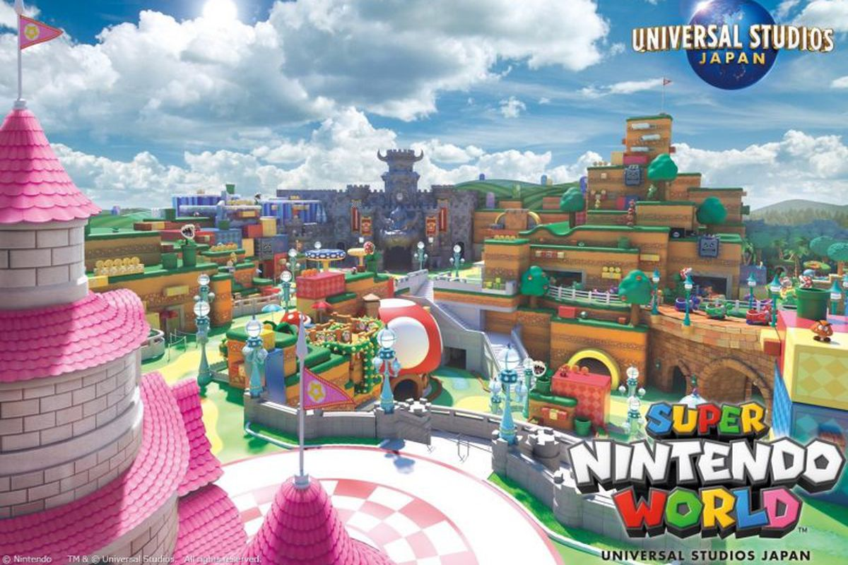 Image result for Japan's Super Nintendo World theme park will feature smart Mario-themed wristbands
