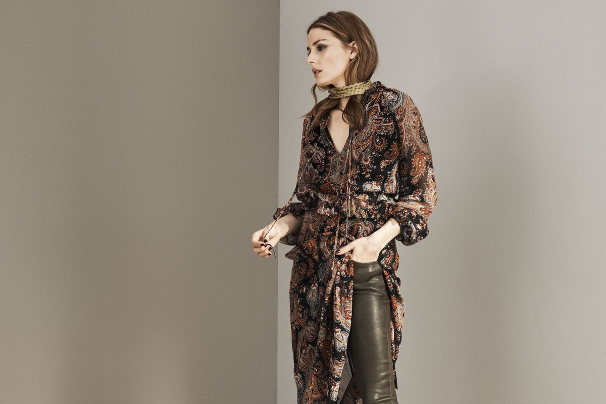 Olivia Palermo's Banana Republic Collection Is Finally