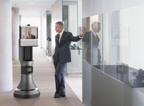 iRobot and Cisco unveil AVA 500, the white collar