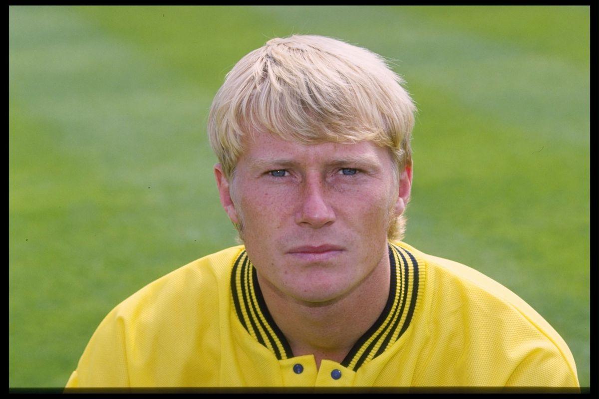 A portrait of David Rush of Oxford United