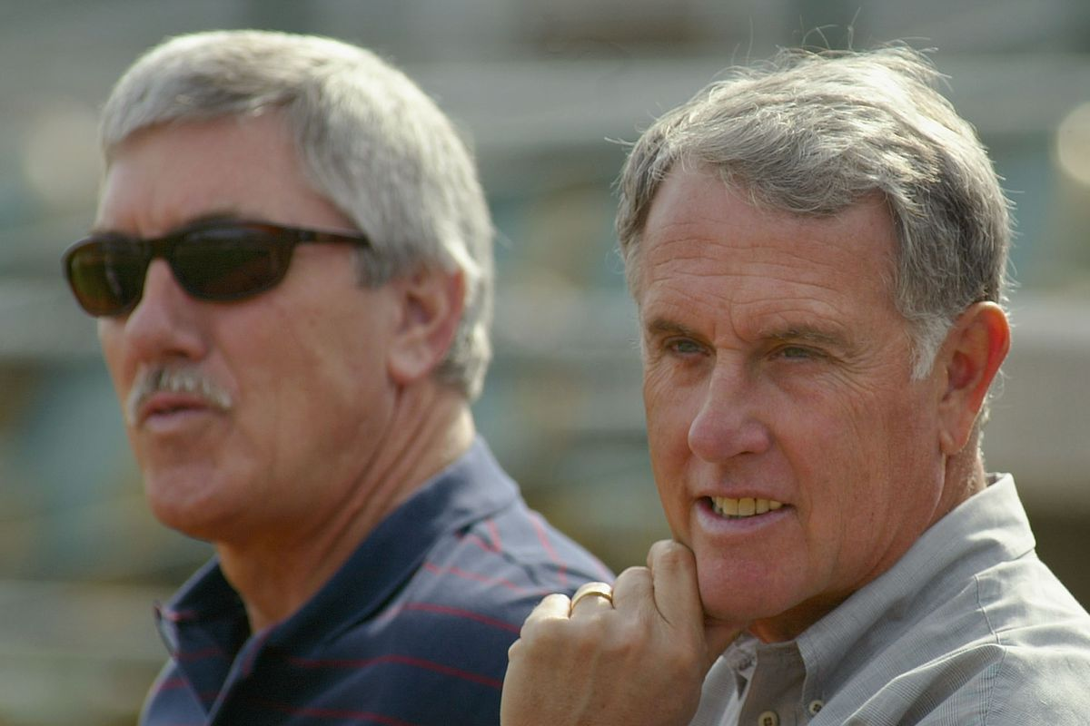 Ray Fosse and Ken Korach, from 2005.