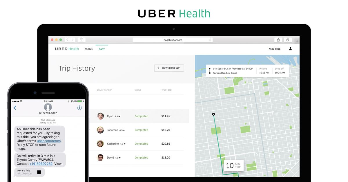 Uber Is Driving Patients To Their Doctors In A Big Grab For Medical