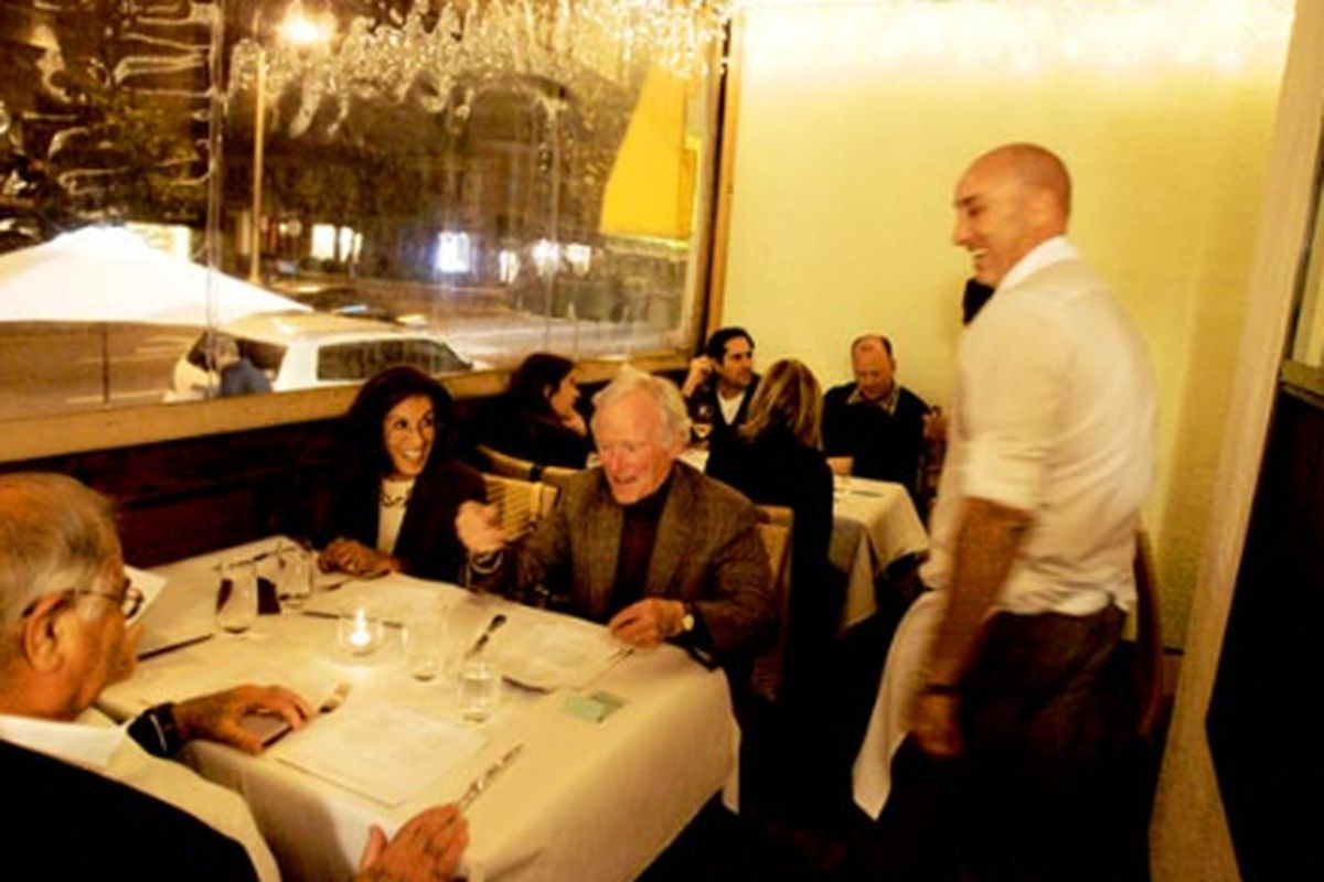 Good Times at Eva's Restaurant in L.A.