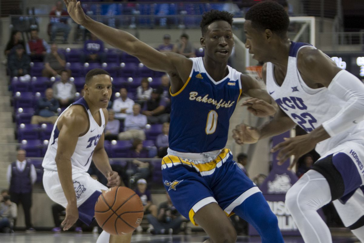 brand new 66c24 48f2d TCU overcomes sloppy start for 66-61 win over CSU ...