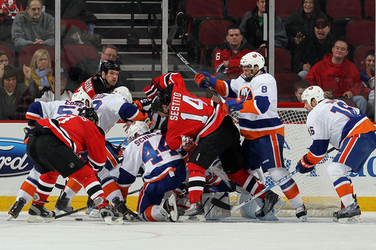 Pictured: Effort, by, well, a lot of people here.  (Photo by Jim McIsaac/Getty Images)