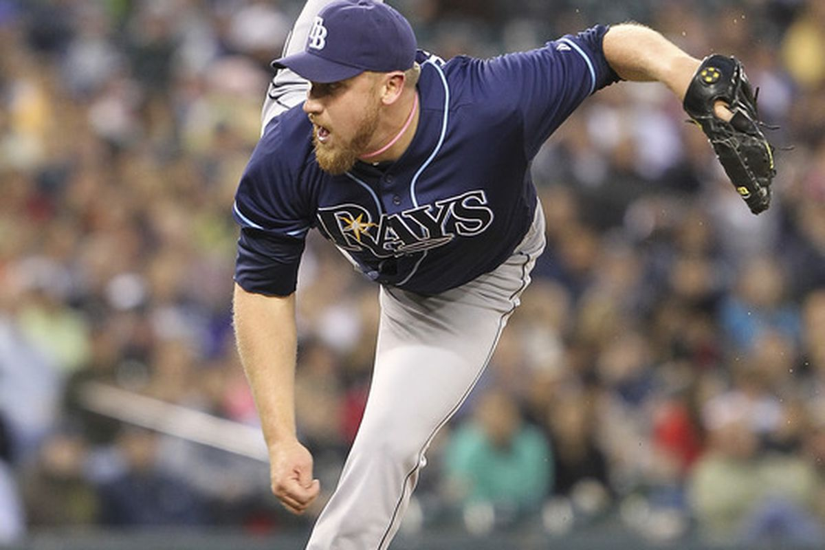 Adam Russell has an outside shot to win a job in Atlanta's bullpen. (Photo by Otto Greule Jr/Getty Images)