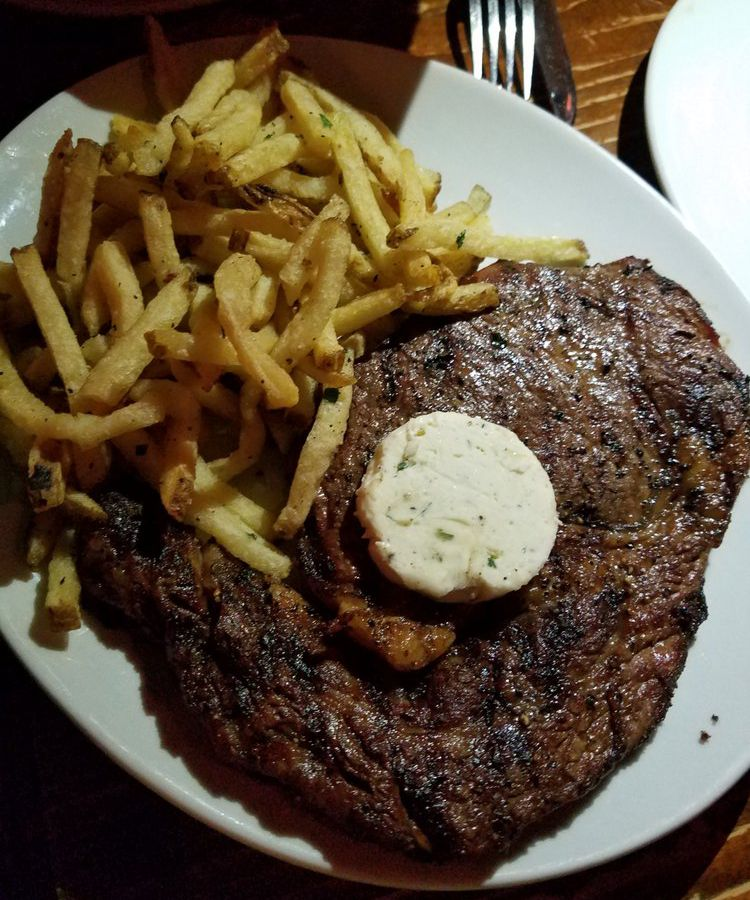 Steak frites from Justine's