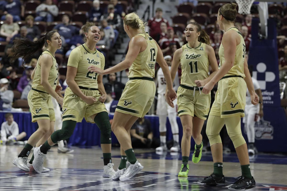 USF Women's Basketball Rebounds With 108-48 Blowout Win ...