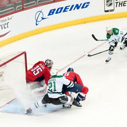 Hemsky and Roussel Do Not Convert on Peters