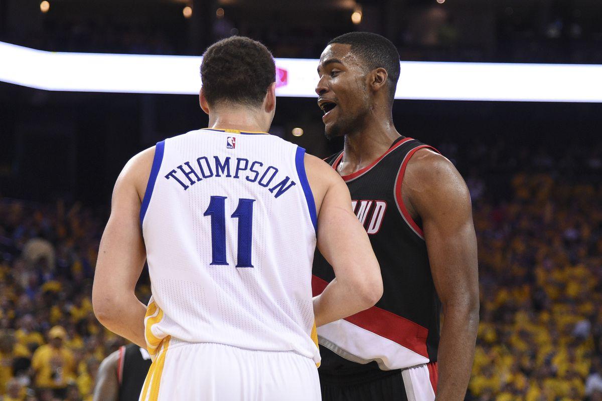 NBA: Playoffs-Portland Trail Blazers at Golden State Warriors