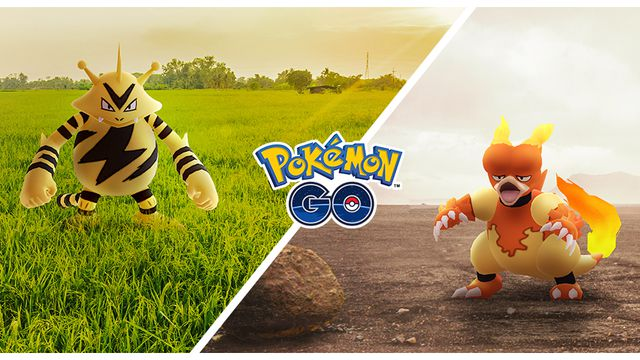 Pokémon Go will have two Community Days in November for Magmar and Electabuzz