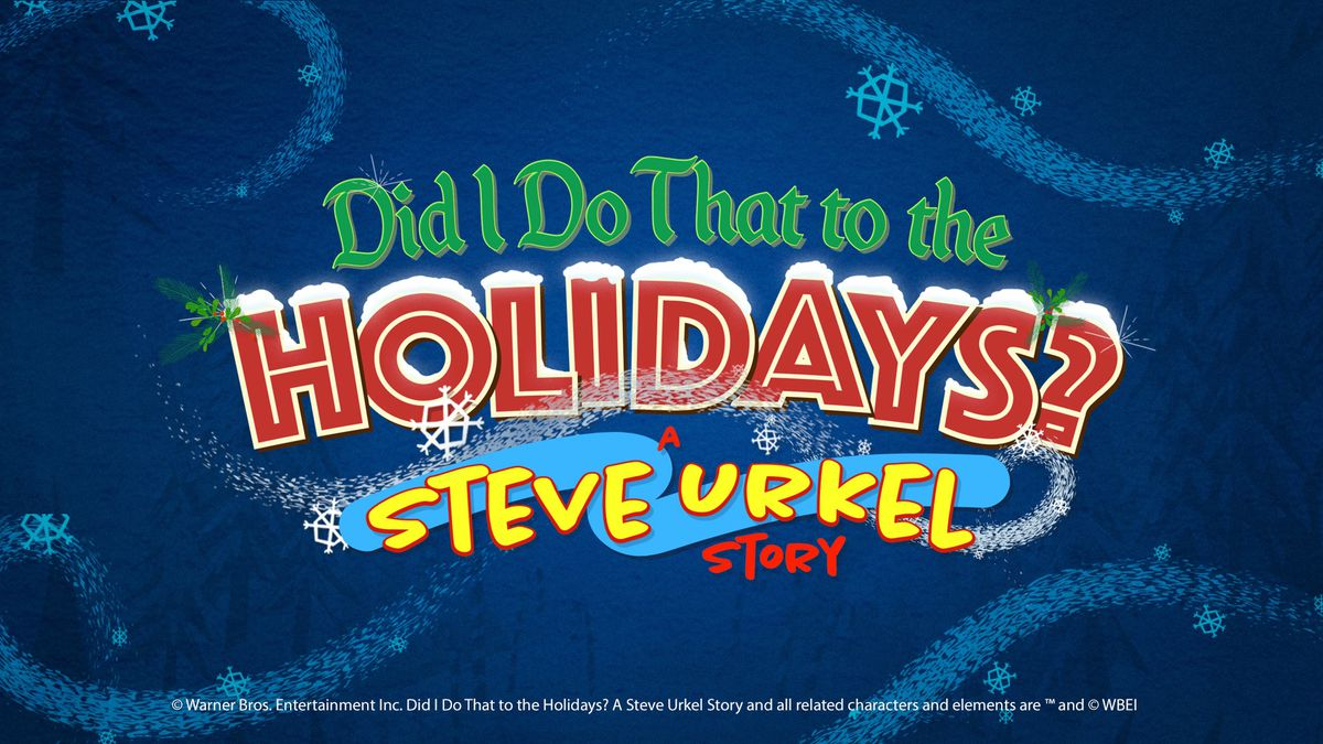 Did I Do That to the Holidays? A Steve Urkel Story title treatment