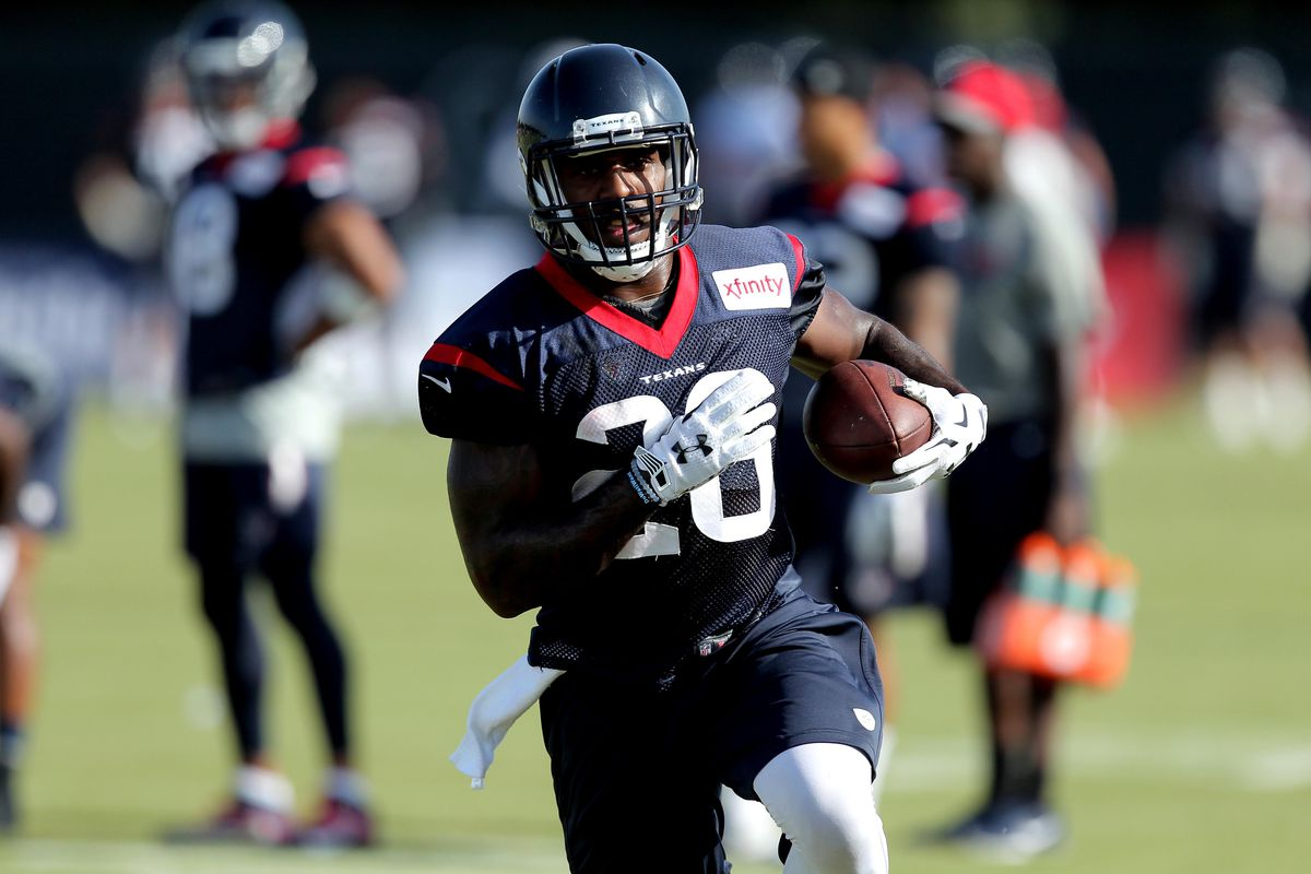 Thankfully, Lamar Miller will be running for Houston, not against us, this season.