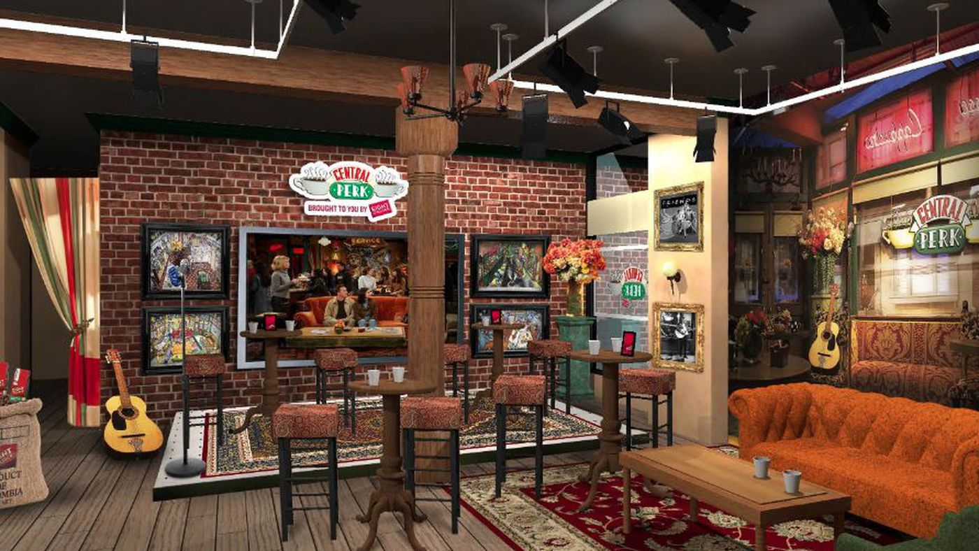 Central Perk Will Become a Real Coffee Shop in NYC - Eater