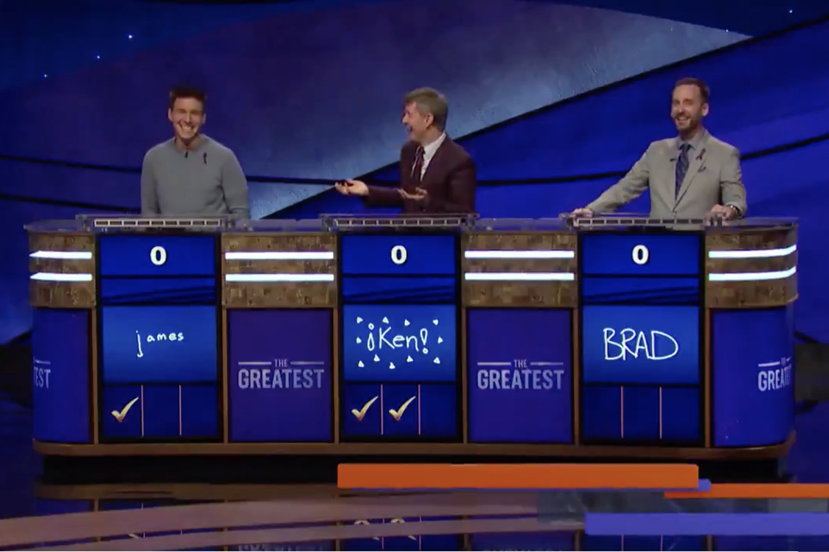 Jeopardy! Goat >> Jeopardy Greatest Of All Time Also Gave Us Goat Level