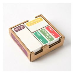 """For the hyper-organized:  <b>Knock Knock</b> Someday Mini Sticky Sets, <a href=""""http://www.papyrusonline.com/gifts-under-20/knock-knock-someday-mini-sticky-sets.html#"""">$7.95</a> at Papyrus"""