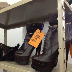 <b>Alaïa</b> booties, $300