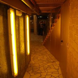 The hallway that connects Tickets and 41 Degrees.