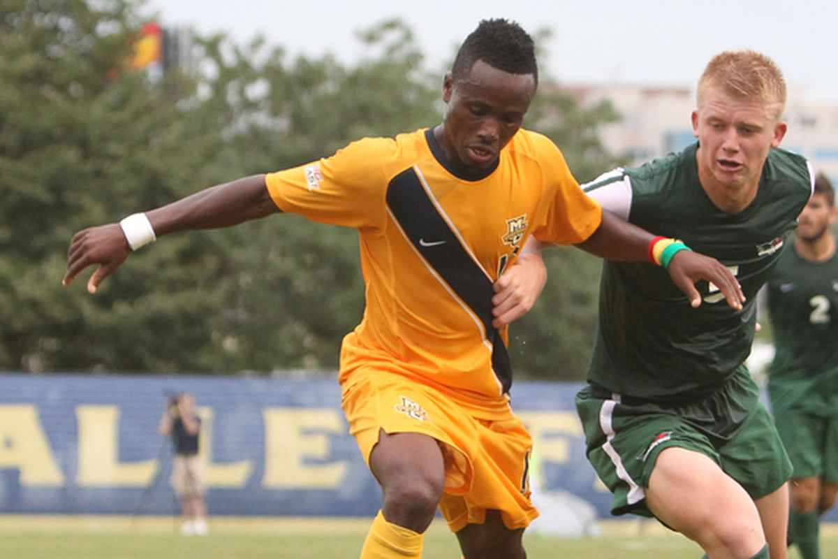 C. Nortey led Marquette in goals last year with 10.
