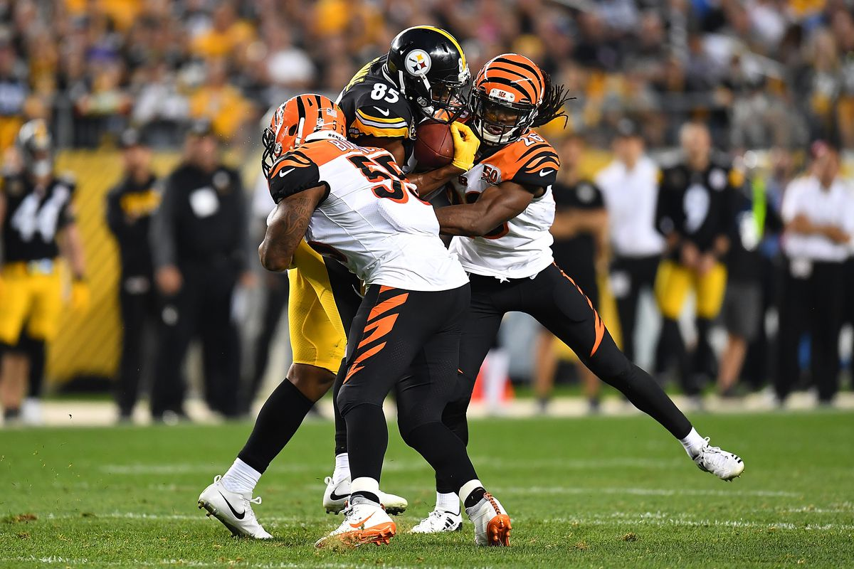 timeless design 55800 535b0 Bengals at Steelers final injury report: Vontaze Burfict ...
